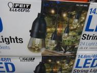 Feit 14.6M LED Light Set 24 Bulbs + 2 Spares | Fairdinks