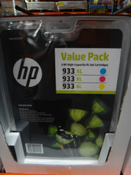 Hewlett Packard 933XL Colour Ink Cartridge Packs Cyan/Magenta/Yellow | Fairdinks