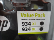 Hewlett Packard 934XL Black Ink Cartridge Twin Pack | Fairdinks