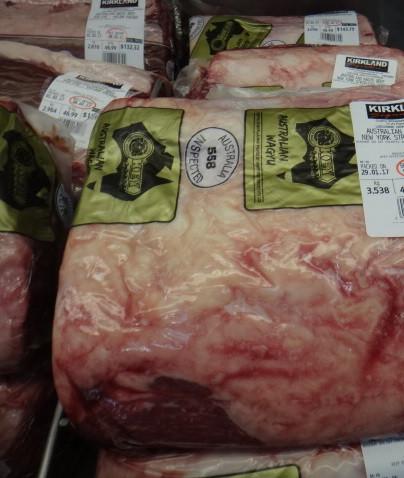 Australian Wagyu Beef New York Striploin Vacpkd Product of Australia