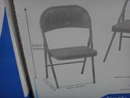 Meco Sudden Comfort All Steel Folding Chair | Fairdinks