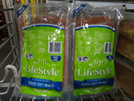 Lifestyle Bakery Soft N Light Super Soft White Gluten Free 2 x 400g