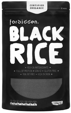 Forbidden Organic Rice 1.25KG | Fairdinks