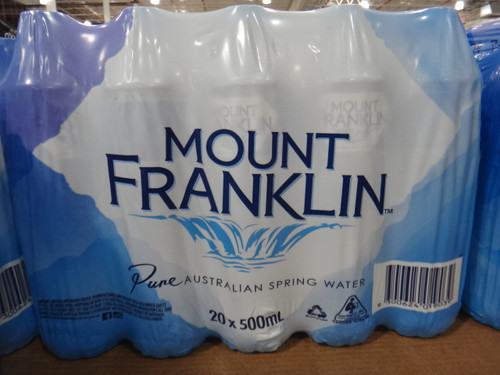 Mount Franklin Australian Spring Water 20 x 500ML | Fairdinks