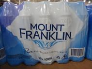 Mount Franklin Australian Spring Water 20 x 500ML | Fairdinks