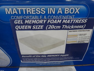 Eternal Design Gel Memory Foam Mattress Size: Queen | Fairdinks