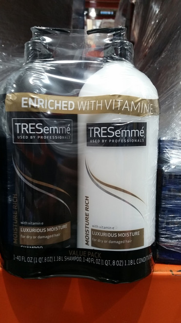 Tresemme Moisture Rich Shampoo & Conditioner 2 x 1.18L | Fairdinks