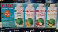 Foco Coconut Water Assorted Flavours Mix PK 12x330ML | Fairdinks
