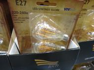 Vivtech 4 Filament LED Bulb 3 Pack | Fairdinks