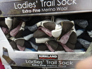 Kirkland Signature Womens 4PK Trail Socks One Size Fits All | Fairdinks