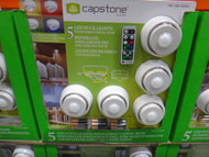 Capstone Directional Puck Light LED 5PK INC Remote | Fairdinks
