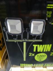 Masterplug LED Work Light IP65 2 x 12W / 1200L /5000K | Fairdinks