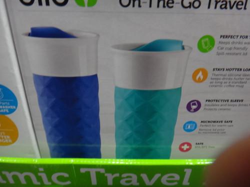Ello Ogden Ceramic 2PK Travel Mugs | Fairdinks