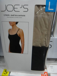 Joes Womens Shelf Bra Camisole 2PK Au Sizes S-L  | Fairdinks