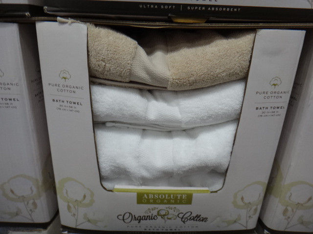 Absolute Organic Cotton Bath Towel Size 76cm X 147cm | Fairdinks