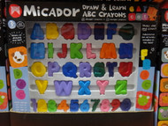 Micador ABC Draw & Learn Crayons | Fairdinks
