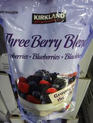 Kirkland Signature Three Berry Blend 1.81KG | Fairdinks