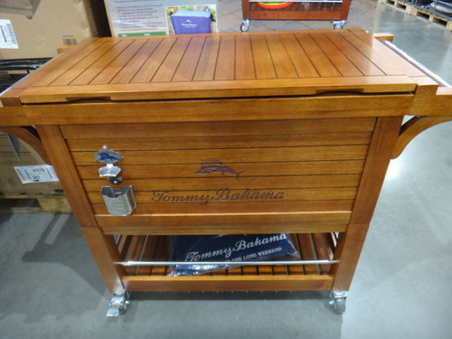 Tommy Bahama Wooden Party Cooler 96.4L FSC Certified Eucalyptus | Fairdinks