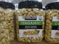 Kirkland Signature Organic Cashews 1.13KG | Fairdinks