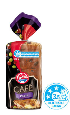 Tip Top, Raisin, Abbotts, English Muffins. Select 2 Loaves | Fairdinks