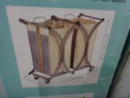 Tofasco 3 Bag Laundry Sorter With Wheels | Fairdinks
