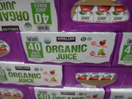 Kirkland Signature Organic Juice Boxes 40 x 200ML  | Fairdinks