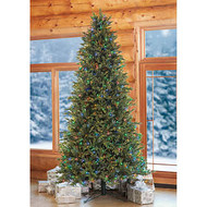 9FT Artificial Christmas Tree Pre-Lit 2 Tone LED 900CT | Fairdinks