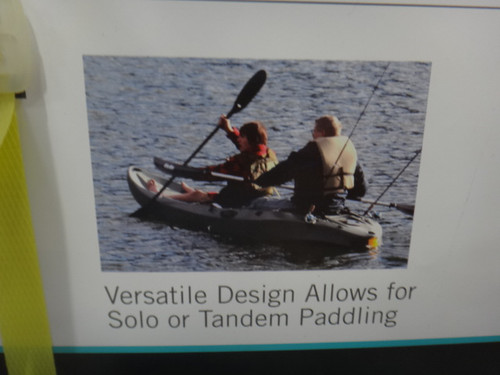 Lifetime Sport Tandem Kayak + Paddles and Back Rests | Fairdinks