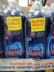 Finish Rinse Aid 2 x 800ML | Fairdinks
