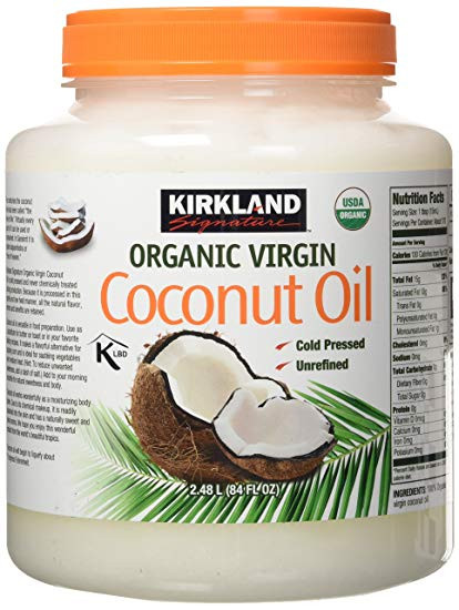Kirkland Signature Organic Coconut Oil 2 48L