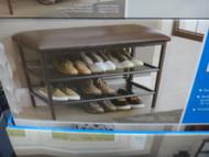 Organize it All Shoe Bench 34cm x 50cm x 80cm | Fairdinks