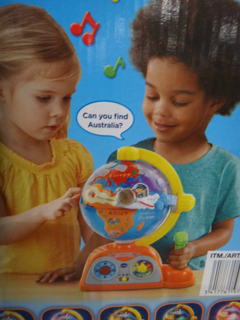 Vtech Light & Flight Discovery Globe | Fairdinks