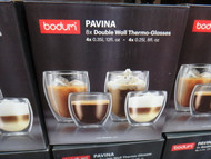 Bodum Pavina Doublewall Glasses 4PC x 250ML & 4 PC X 350ML | Fairdinks