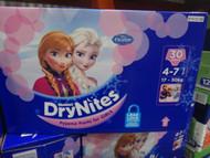 Huggies Drynites Pyjama Pants Girl 4-7 years 30 Pack