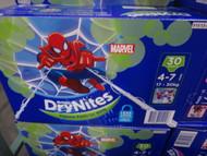 Huggies Drynites Pyjama Pants Boy 4-7 years 30 Pack