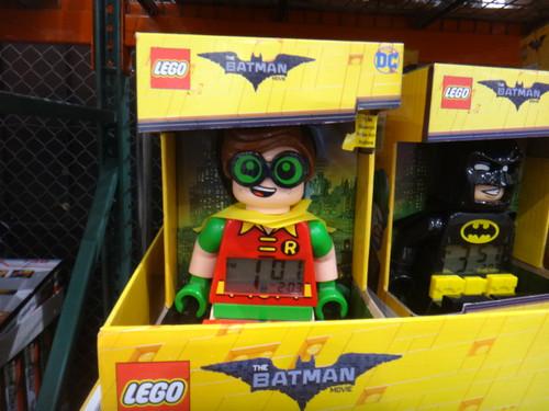 Lego Batman Movie Alarm Clock - Robin | Fairdinks