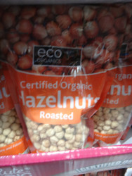 ECO Organics Organic Roasted Hazelnuts 700G | Fairdinks