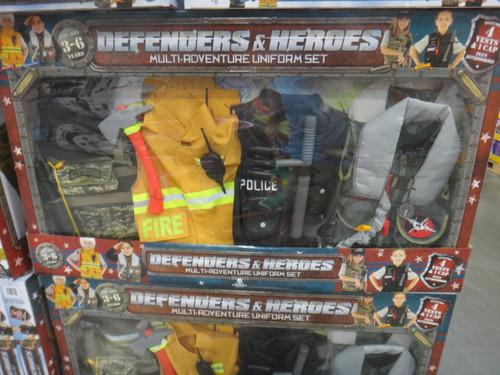 Teetot Defenders & Heroes Dress Up Set | Fairdinks