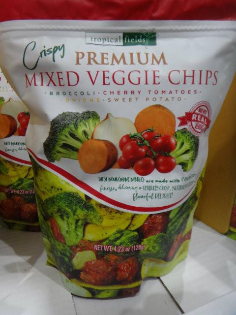 Tropical Fields Premium Veggie Chips 120G | Fairdinks