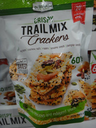 In Season Snacks Trail Mix Crackers 232G Individual Packs | Fairdinks