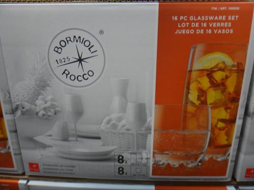 Bormioli Rocco Galassia Drinkware 16 Piece | Fairdinks