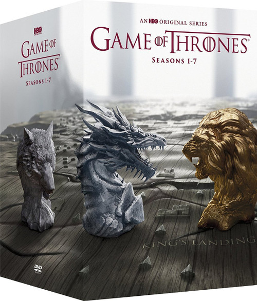 Game of Thrones: The Complete Seasons 1-7 DVD Boxset | Fairdinks