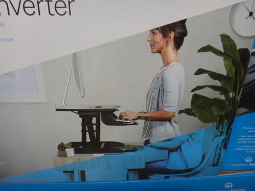 Ergotron Home Sit-Stand Desk Converter Number of Boxes : 1 Box | Fairdinks