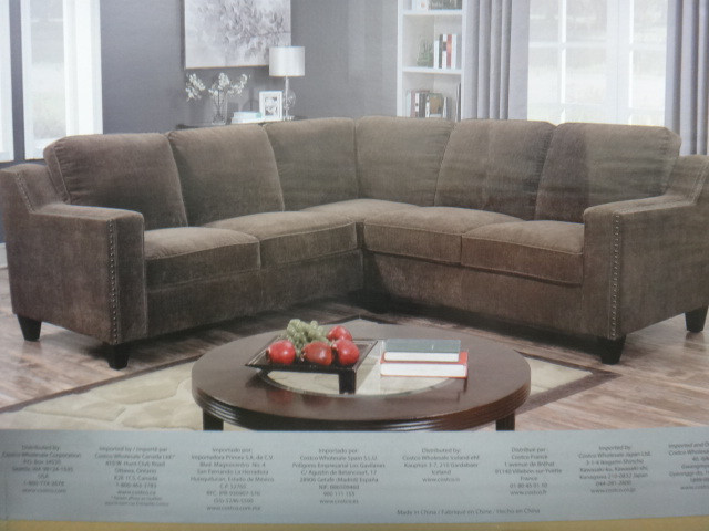 MStar Fabric Sectional Number of Boxes: 2 Boxes