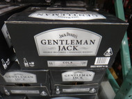 Gentleman Jack Rare Tennessee Whisky & Cola 24 x 330ML Bottles | Fairdinks