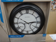 Acurite Indoor/Outdoor Wall Clock Size:61CM (24 inch) | Fairdinks