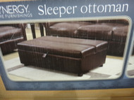 Synergy Home Furnishings Sleeper Ottoman Number of Boxes: 1 Box  | Fairdinks