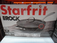 Starfrit The Rock Fry Pan With Glass Lid | Fairdinks