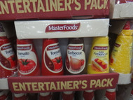 Masterfoods Entertainers Sauce Pack Mixed 4 Pack 2050ML   Fairdinks