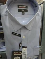 Kirkland Signature Mens Custom Fit Blue US Sizes: 15:18 | Fairdinks